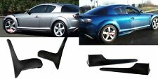 04-10 MAZDA RX8 RX-8 PU FRONT MUD FLAPS QUARDS REAR SIDE SKIRTS BODY KIT