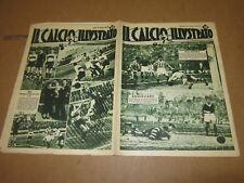 IL CALCIO ILLUSTRATO N°9 MARZO 1936 BOLOGNA JUVENTUS INTER ROMA BARI SAMP