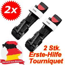 2x Tourniquet Emergency Drehende Einhand Medizinisch Erste-Hilfe-Ausrüstung Kits