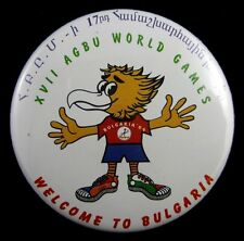 Armenia Armenian Pin Badge General Benevolent Union (AGBU) World Games