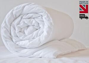 Premium 16.5 tog Winter Warm Duvet Quilt - Extra Thick & Energy Efficient