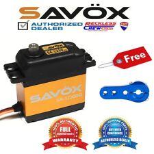 Savox SA-1230SG Monster Torque Steel-Gear digital servo + Free ALU servo horn BL
