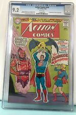 Action Comics 330 CGC 9.2 White Pages 1st Appearance Doctor Supernatural 11/65