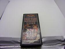 1997 New York Bartender's Guide By Sally Ann Berk-Hard Cover Book