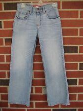 Levi's 527 Red Tab Women's Boot Cut Whitewash Jeans Size 14 Regular 27x27