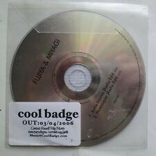 FUJIYA & MIYAGI - Ankle Injuries / Photocopier. 2 track UK Promotional CD 2006