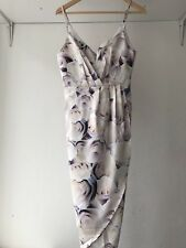Pinnacle Runway Floral Wrap Bodycon Pencil Dress, AU Size 10