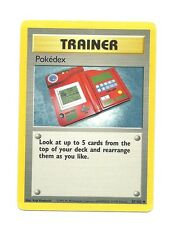 1x Pokedex Played Base Set Trainer 87/102 1x x1