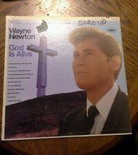 Wayne newton god is alive vinyl record