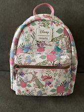 Loungefly Disney Sleeping Beauty Flowers & Fairies Mini Backpack NWT