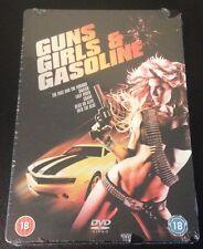 GUNS GIRLS & GASOLINE SteelBook UK 6 DVDs Snatch DOA Into The Blue New OOP Rare!