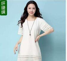 LADIES BOHO DRESS JLH - WHITE