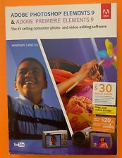 Adobe Photoshop Elements 9 Premiere Elements 9 - For Mac and PC - Original