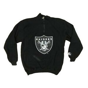 Oakland Raiders Thermal Football Starter Sweater Sz L
