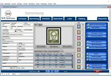 Software  -  WR-Briefmarken - Verwaltung