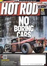 Hot Rod Magazine Feb 2012 Cobra 50th Anniversary Special, No Boring Cars