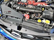 RPG Vacuum Carbon Radiator Cooling Plate for 08-14  Subaru Impreza WRX STI GRB