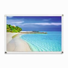 Photo Frame Wall Mount Clear Perspex Poster Picture Display Holder Various Sizes