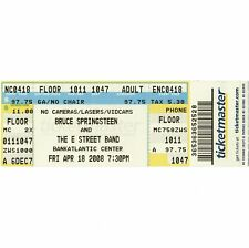 BRUCE SPRINGSTEEN Concert Ticket Stub SUNRISE FL 4/18/08 CENTER MAGIC TOUR Rare