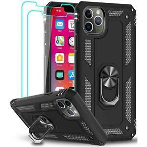 Coque de protection Iphone +2 Vitre Verre Trempé iPhone 11/12 Pro MAX XR SE 7/8