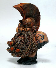 "WARHAMMER  FORGE WORLD BUST ""DWARF TROLL SLAYER""  PRO PAINTED LIMITED EDITION"