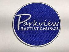Parkview Baptist Church Baton Rouge Louisiana LA Religious Blue White Patch J
