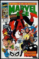 Marvel Comics MARVEL AGE #86 Spider-Man VFN/NM 9.0