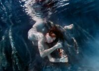"Photographie,  ""Underwater"" (II),  Bahamas, 2003       /     15 x 20 cm"