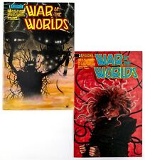 War of the Worlds  #1 & 2 (1989 Eternity) TV Comic Book! NM