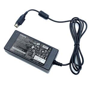 Genuine Epson M235B AC Adapter 3-Pin for Epson TM-T88 TM-T88II Printers No Cord