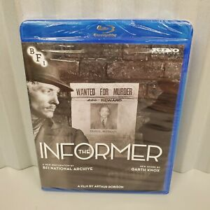 Blu Ray The Informer Silent Movie New Factory Sealed