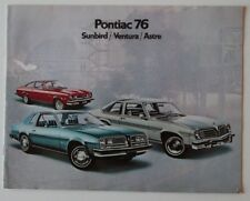PONTIAC Sunbird Ventura Astre 1976 dealer brochure - French Canada ST1002000918