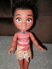 "Disney Toddler doll   Princess  moana singing doll 14"" inch tall"