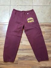 Vtg Arizona State ASU Champion XL sweatpants Sun Devils Red Maroon