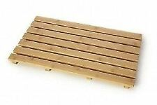 BLUE CANYON RECTANGULAR SLATTED QUALITY BAMBOO OBLONG DUCK BOARD NEW