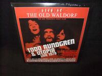 Todd Rundgren Utopia Live Old Waldorf 1978 Gold Vinyl 2 LP Record Sealed New