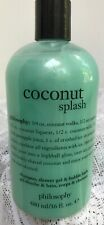 New/Sealed PHILOSOPHY COCONUT SPLASH SHOWER GEL/SHAMPOO/BUBBLE BATH 16oz/480ml