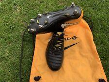 Nike Tiempo Legend VII Elite SG, UK 7.5, Black/Yellow/White