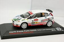 Prensa Ixo 1/43 - Fiat Gran Punto Abarth S2000 Rallye Lyon Charbonnières 2010
