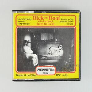 Dick und Doof mit dem Kopf durch die Wand - Revue Super 8 - 33m - SW - 8657 - #1