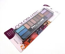 Colormates Eyeshadow Multi Color Garden Party #8109 12 Colors One Palette