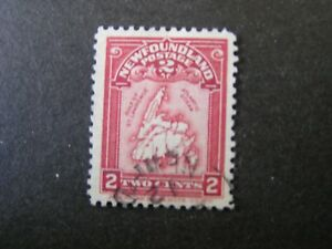 NEWFOUNDLAND, SCOTT # 86, 2c. VALUE .NEWFOUNDLAND MAP 1908 ISSUE USED
