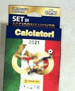 AGGIORNAMENTO SET CALCIATORI 2021 FIGURINE. PANINI***pronta consegna