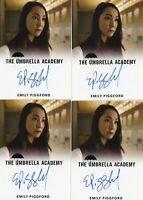 VL The Umbrella Academy season 1 Autograph card Emily Piggford as Helen