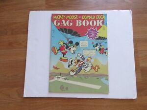 1937 MICKEY MOUSE,DONALD DUCK,HORACE HORSE COLLAR GAG BOOK