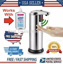 Automatic Liquid Soap Dispenser  Touchless Smart Infrared Motion Sensor