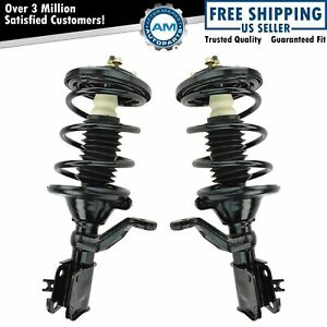 Front Complete Loaded Struts Pair Set of 2 For 01-05 Honda Civic 01-04 Acura EL