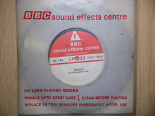 "BBC Sound Effects 7"" Record - Airports, Terminal Building & On Apron, EC42A"