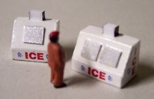 Ice Vending Machines 2 Pack N SCALE 1:160 Model Train Detail Building Accessory