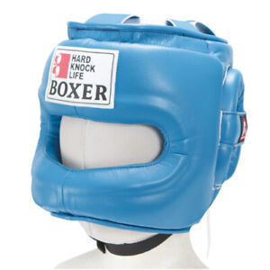 ISAMI BOXER High quality Full Face Head guard Head gear string Made in JAPAN NEW